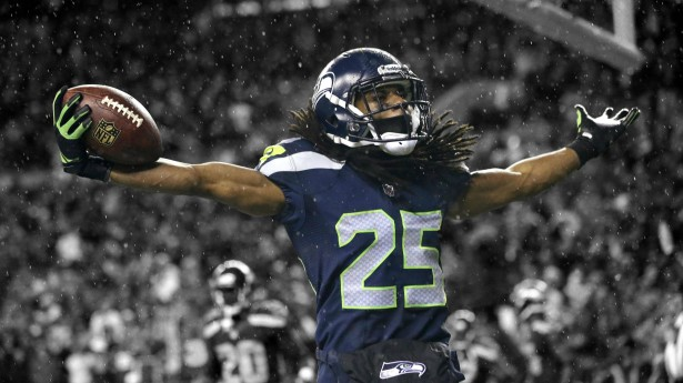 Seattle Seahawks player Richard Sherman (Fanpop.com)