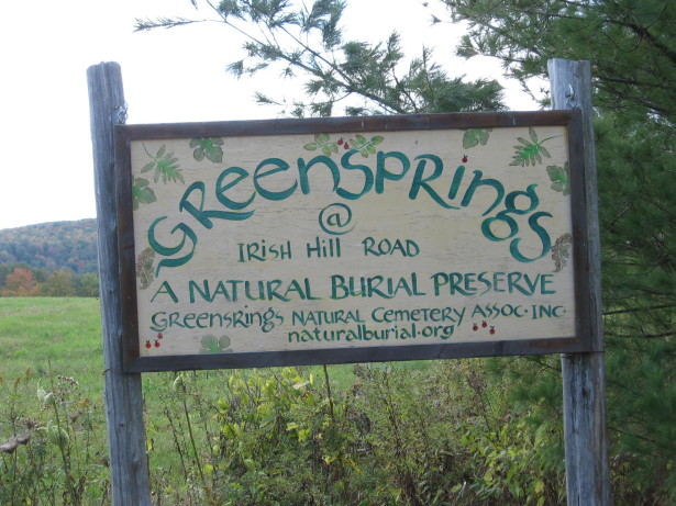 Located in New York's Finger Lakes region, Greensprings provides a sustainable alternative to conventional cemeteries. (naturalburial.org)