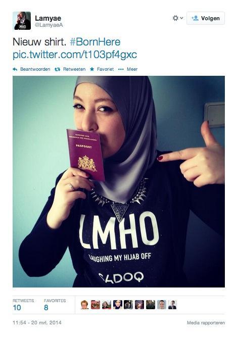 Dutch-Moroccans defy racist speech in the Netherlands. (Twitter)