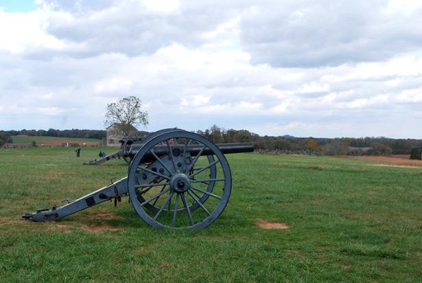 Manassas battlefield in Virginia. (WNV/Ingrid Burrington)