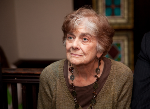 Frances Fox Piven at at a national teach-in at Judson Memorial Church in New York in 2011. (Flickr/Pat Arnow)