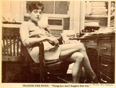 Frances Fox Piven in 1979. (Smith College/Gil Vasquez)