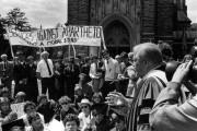 Organizing on private school campuses was a vital force in the anti-apartheid struggle (Flickr / Duke University Archives)