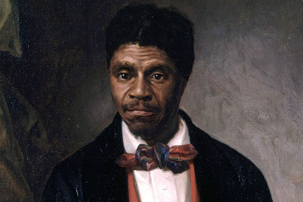 Portrait of Dred Scott, painted by Louis Schultze in 1888. (Wikipedia)