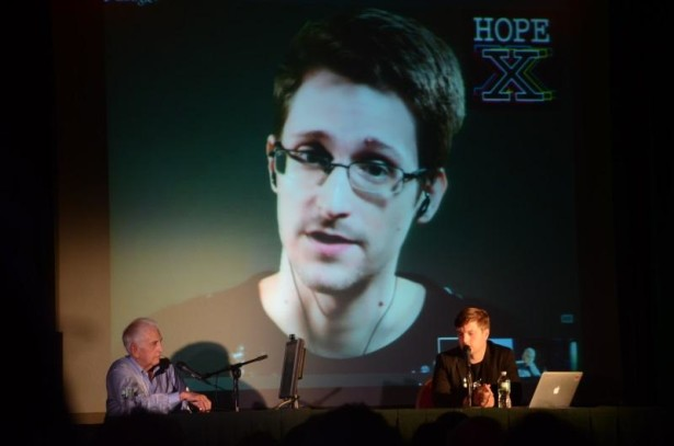Edward Snowden and Daniel Ellsberg (bottom-left). (Twitter/Zen Albatross)