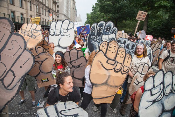 People's Climate March (Flickr / Josh Lopez)