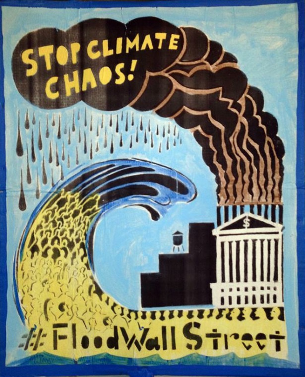 e Peoples Climate March Stay Flood Wall Street on civil scale
