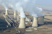 Arnot Power Station is a coal-fired power plant in Middelburg, South Africa. (Wikimedia Commons / Gerhard Roux)