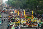 More than 400,000 people took part in the People's Climate March last month in New York City. (Survival Media Agency / Robert van Waarden)
