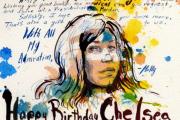 A birthday card by artist Molly Crabapple.