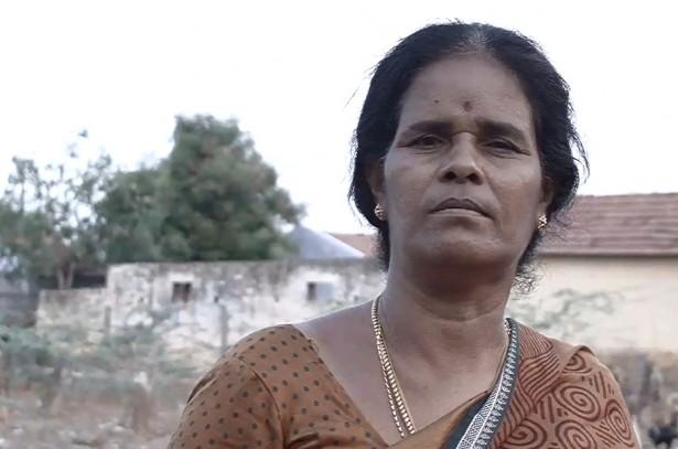 Veteran garment worker (Dollar City / Pushpa Achanta)
