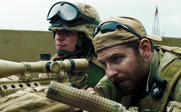 "Bradley Cooper as Chris Kyle in ""American Sniper."" (Warner Brothers)"