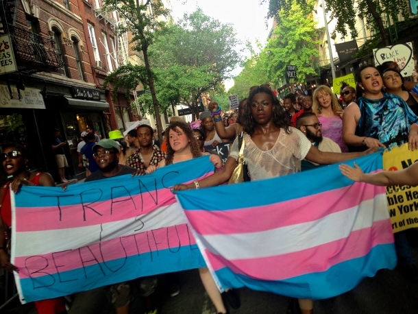 Thousands marched through downtown Manhattan for the 11th Annual Trans Day of Action on June 26. (WNV/Ashoka Jegroo)