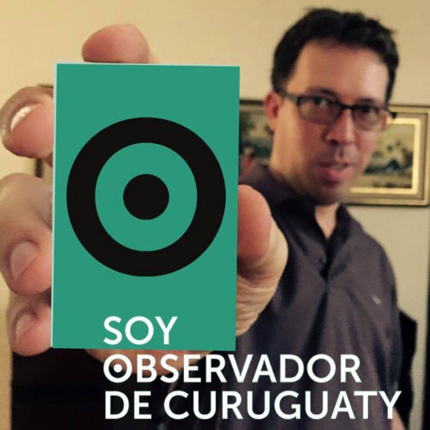 TV director Marcelo Martinessi is a Curuguaty observer. (WNV/Somos Observadores)
