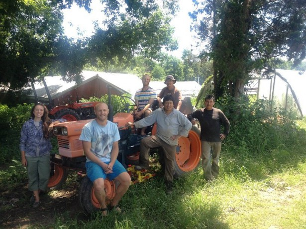 The farm team at Our Harvest Cooperative. (Facebook / Our Harvest Cooperative)