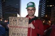 Farhad Ebrahimi at Occupy Boston in 2011. (WNV / Farhad Ebrahimi)