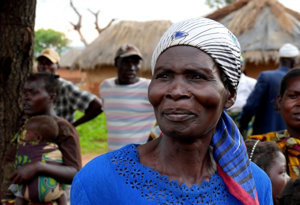 Queen Mother Zamele Kwenu in Ferro Village in Ghana's Upper East district. (WNV / Caleb Chirano)