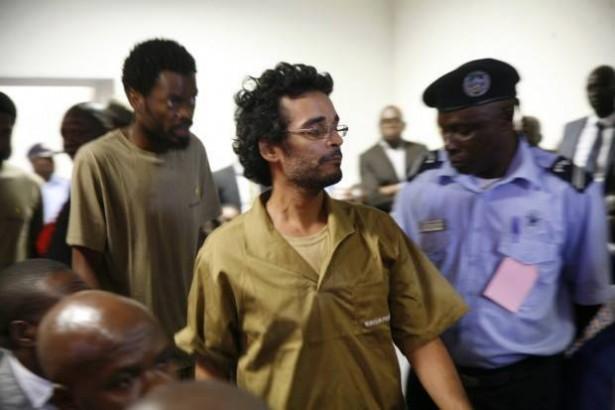 Luaty Beirão after the hunger strike. (Facebook / Luaty Beirão)
