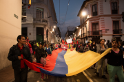 Workers seek to put pressure on Correa's government to ensure labor rights are protected in the face of neoliberal austerity measures. (WNV/Elizabeth Farinango)
