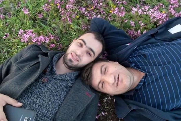 Hadi Abdullah (left) and Raed al-Fares (right). (Facebook/Kafranbel Syrian Revolution)