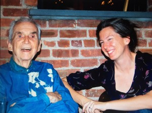 Dan and Frida at his 90th birthday party in May 2011. (WNV / Joe Cosgrove)
