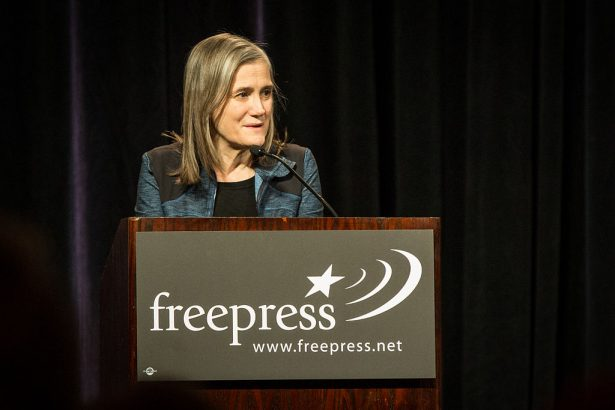 Democracy Now's Amy Goodman at the 2013 National Conference for Media Reform in Denver, Colorado. (Wikipedia / Tony Webster)