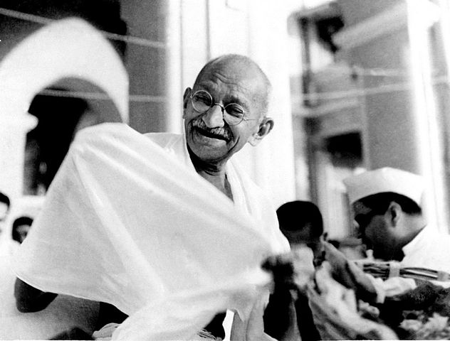 Gandhi's strategy for success — use more than one strategy
