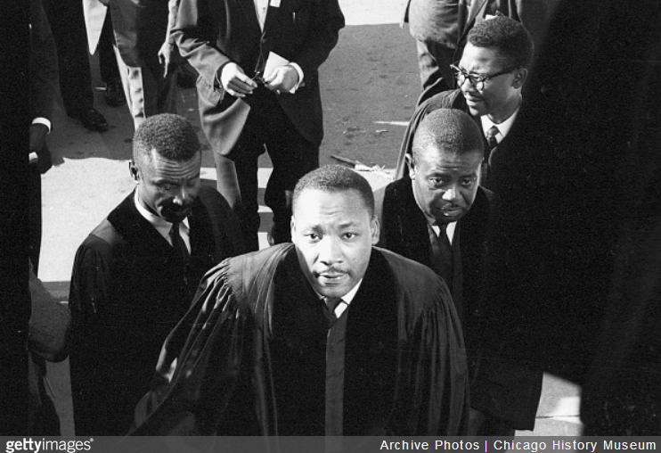 how successful was martin luther king When the rev martin luther king jr stepped out of his car on aug 5, 1966, in  his usual dark suit and polished shoes, he was met by a line of.