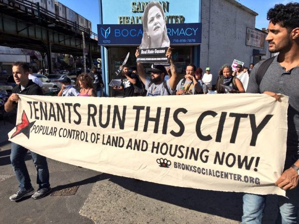Bronx residents lead anti-gentrification march to oppose rezoning plans