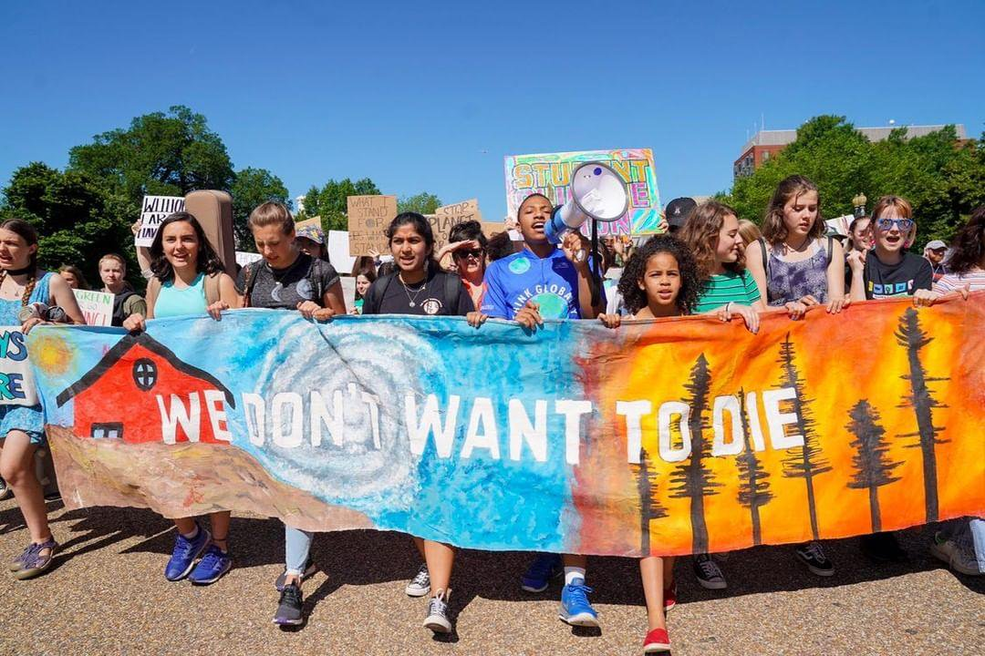 Image result for waging nonviolence: The Global Climate Strike is the result of a whole new generation taking bold action and could be the turning point for grassroots resistance to fossil fuels.